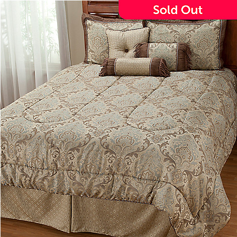 402-004 - ''Catherine'' Seven-Piece Comforter Set
