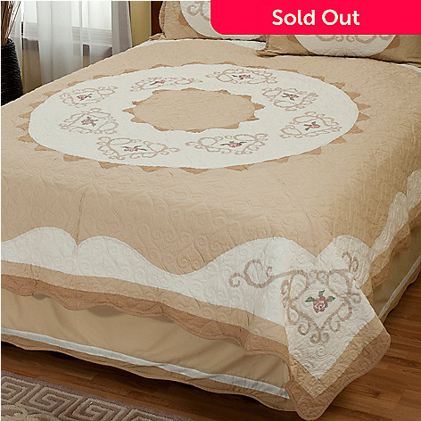 402-020 - North Shore™ Collectible Quilts ''Heather Rose'' Limited Edition Quilt - King Size
