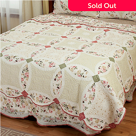 402-025 - North Shore[ ''Romance Wedding'' Limited Edition 100% Cotton Full/Queen Quilt