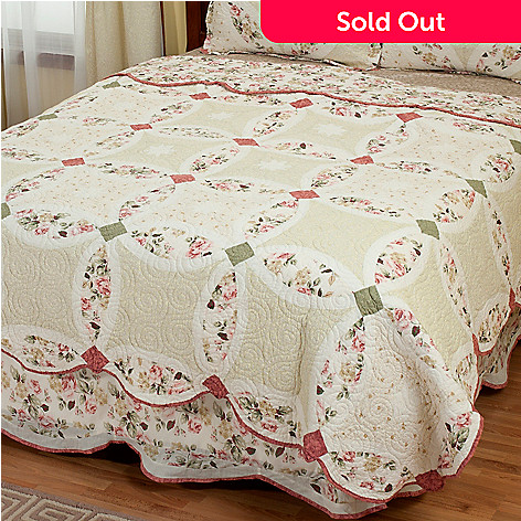 402-026 - North Shore[ ''Romance Wedding'' Limited Edition 100% Cotton King Quilt