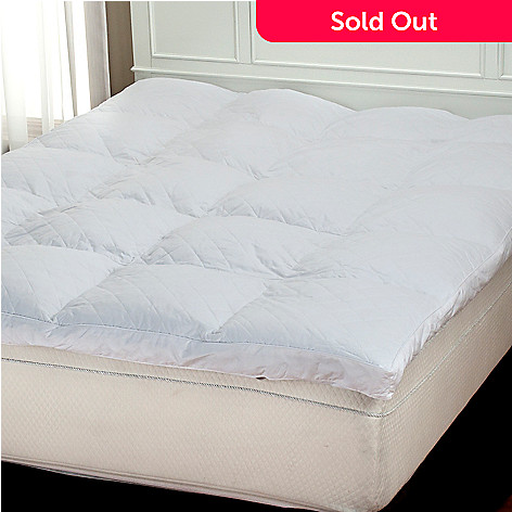 402-047 - North Shore Linens™ 230TC Cotton White Featherbed