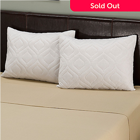402-072 - North Shore Linens™ Set of Two Quilted Clean & Fresh Pillow Protectors