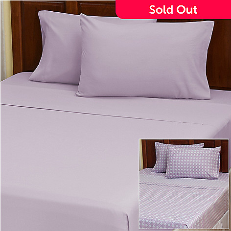 402-131 - Cozelle™ ''Lauren'' Microfiber Set of Two Four-Piece Sheet Sets