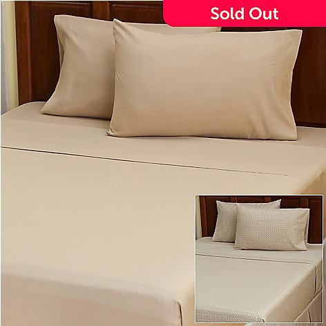 402-140 - Cozelle™ ''Lyla'' Microfiber Set of Two Four-Piece Sheet Sets