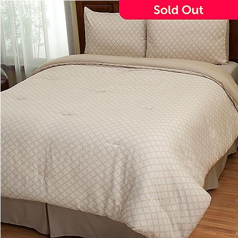 402-144 - Cozelle® ''Laura'' Microfiber Four-Piece Comforter Set