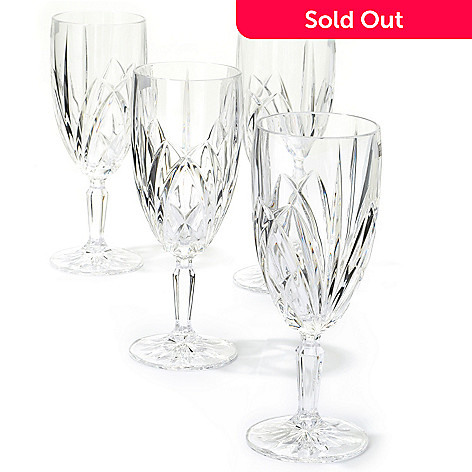 403-182 -  Marquis® by Waterford® Brookside Set of Four Crystal Iced Beverage Glasses