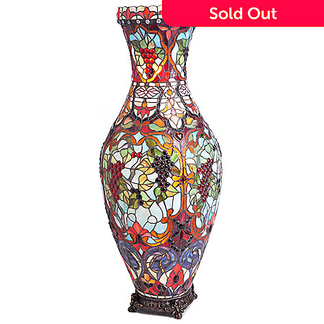 403-930 - 42.5'' Tiffany-Style Vase Floor Lamp