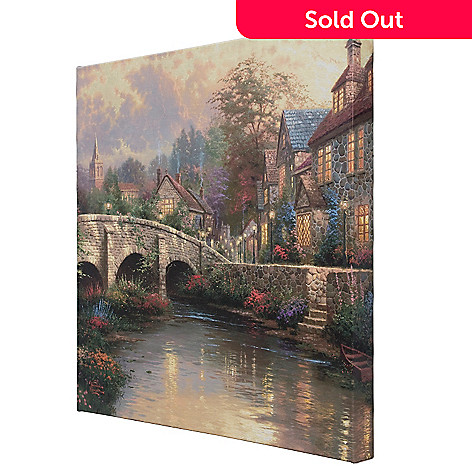 404-417 - Thomas Kinkade Cobblestone Collection Gallery Wrap