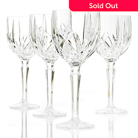 404-491 - Marquis® by Waterford® Brookside Set of 12 Crystalline Goblet Glasses