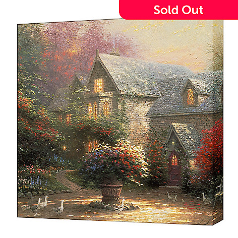 404-523 - Thomas Kinkade ''Blessings of Spring'' Gallery Wrap