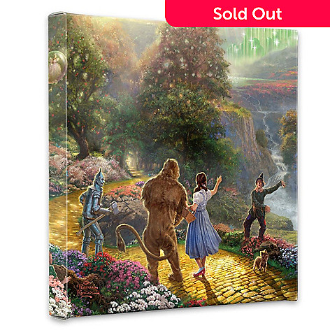 405-013 - Thomas Kinkade ''Dorothy Discovers The Emerald City'' Gallery Wrap