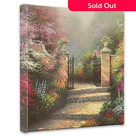 405-027 - Thomas Kinkade ''Victorian Garden'' Gallery Wrap