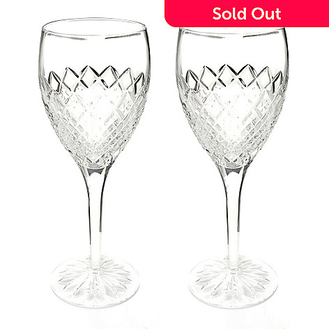 405-843 - Waterford Crystal Set of Two Castle Nore Drinkware