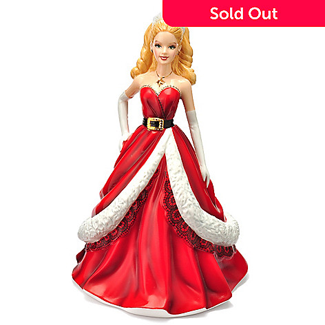 405-989 - Royal Doulton 8.5'' Holiday 2011 Limited Edition Barbie Figurine