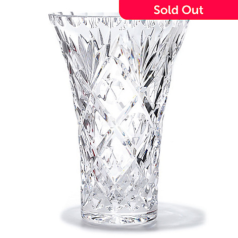 406-081 - Waterford® Crystal Gantry 8'' Flared Vase