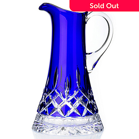406-131 - Waterford Crystal Lismore 10-1/2'' Cobalt Pitcher