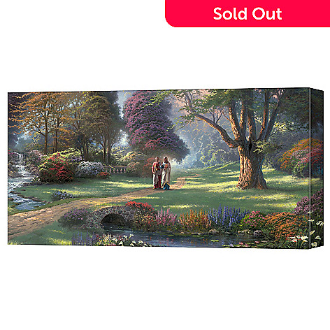 406-142 - Thomas Kinkade ''Walk of Faith'' Gallery Wrapped Canvas