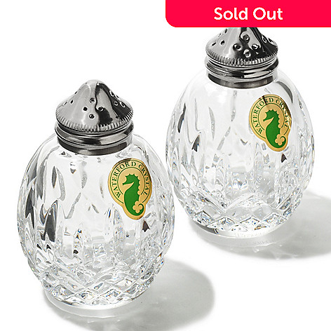 406-247 - Waterford® Crystal Lismore Salt & Pepper Shaker Set