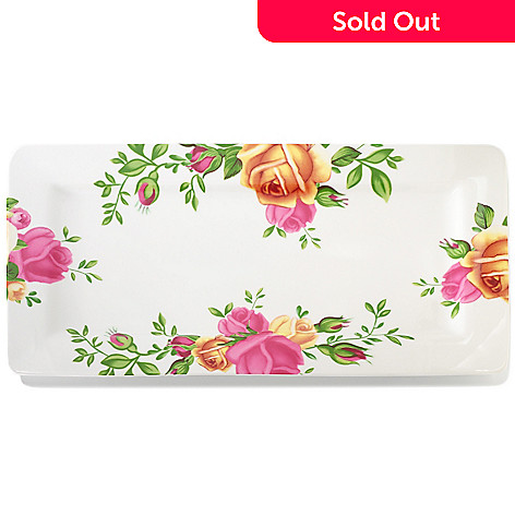 406-329 - Royal Albert® Country Rose Porcelain Serving Tray