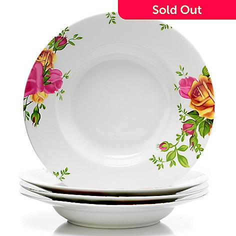 406-330 - Royal Albert® Old Country Roses Set-of-Four Porcelain Serving Bowls