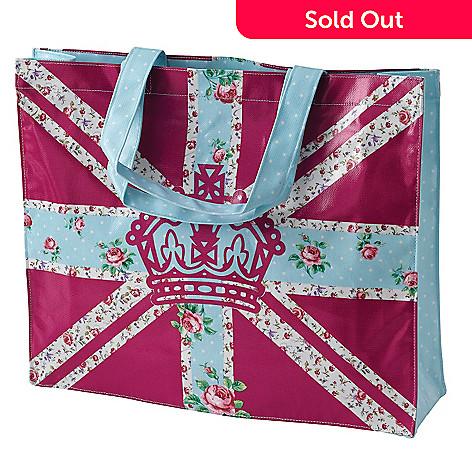 406-359 - Royal Albert® Bright Union Jack 17.5'' Plasticized Shopping Bag