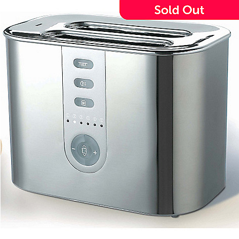 409-059 - DeLonghi DTT720 Two-Slice Stainless Steel Toaster