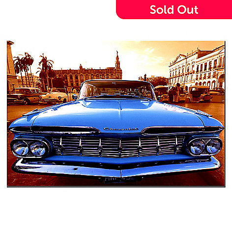 415-332 - 1959 Chevy El Camino 22'' x 32'' Ready to Hang Canvas Art