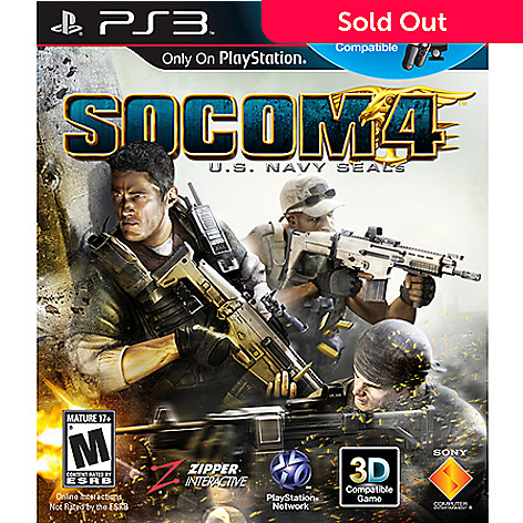 417-909 - SOCOM 4 Sony PlayStation 3 Game