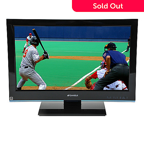 418-510 - Sansui SLED2480  24'' 1080p LED-LCD TV