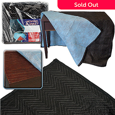 421-051 - Trademark 72'' x 80'' Extra Thick Padded Moving Blanket