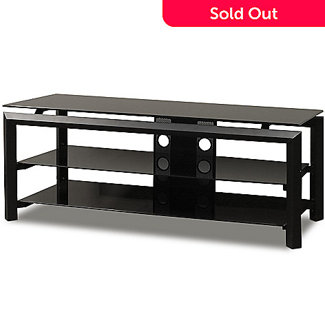 421-769 - TechCraft 52'' Black Finish Television Stand