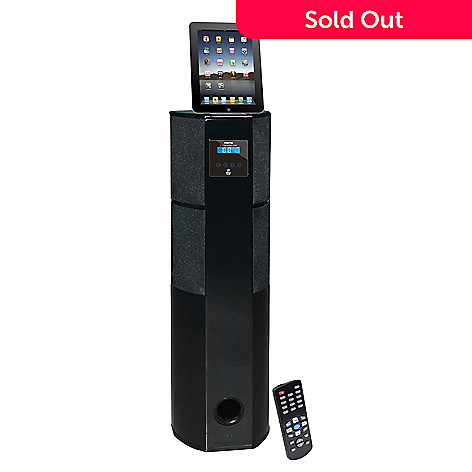 423-482 - Pyle PHST96IPGL Channel Home Theater Tower w/ Docking Station for iPod/iPhone/iPad
