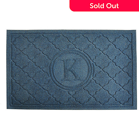 424-709 - Waterguard™ 2' x 3' High Traffic Anti-Slip Bombay Monogram Doormat
