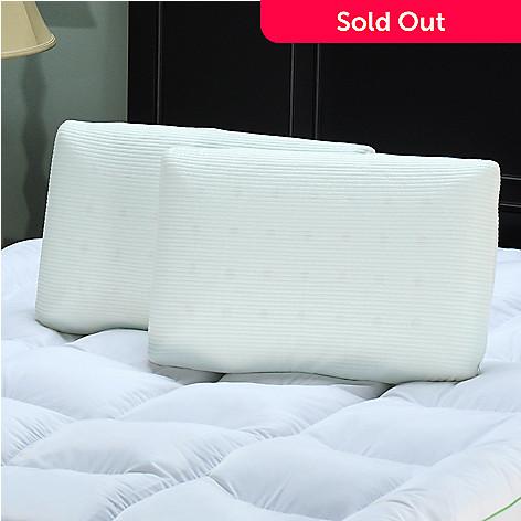 425-219 - sensorPEDIC Comfort Ventilated Memory Foam Pillow Pair