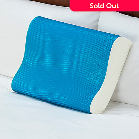 425-930 - Comfort Revolution® Hydraluxe™ Gel Wave Design Contour Pillow
