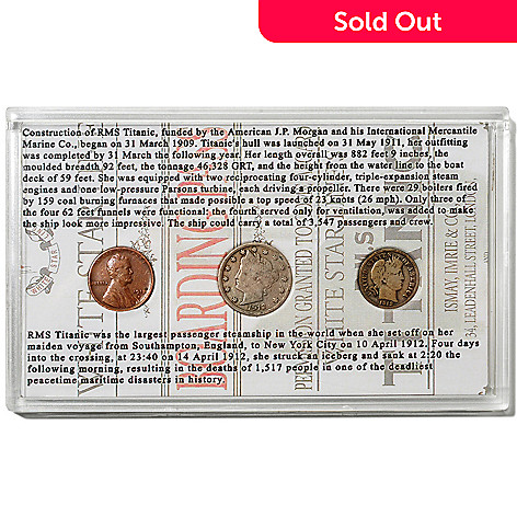 426-002 - 1912 Titanic 100th Anniversary Coin Collection