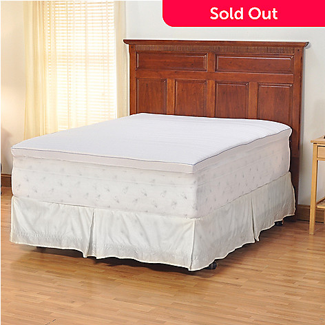428-229 - sensorPEDIC™ 3'' Memory Foam Quilted Topper w/ Cover - King Size