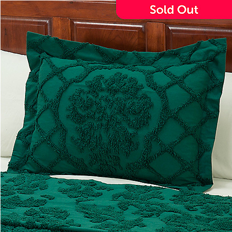 429-111 - North Shore Linens™ ''Damask'' Cotton Chenille Sham