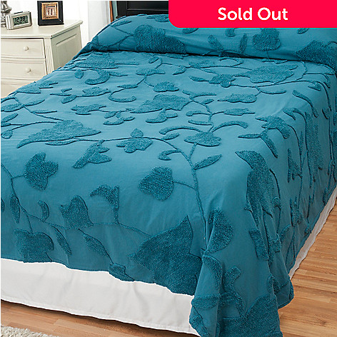 429-112 - North Shore Linens™ ''Harmony'' 100% Cotton Chenille Bedspread