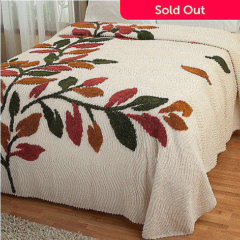 429-116 - North Shore Linens™ ''Sonesta'' Cotton Chenille Bedspread