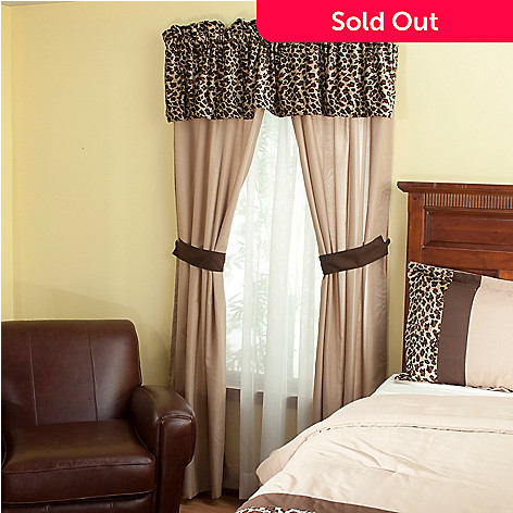 429-129 - North Shore Living™ ''Leopard'' Five-Piece Window Set
