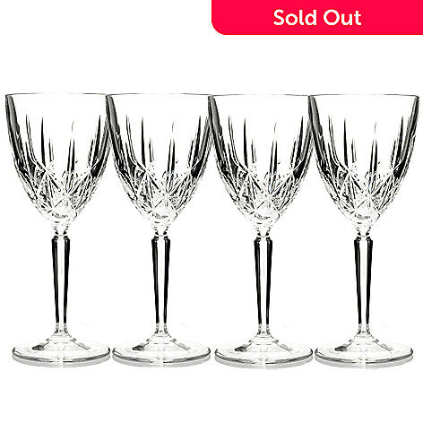 429-167 - Marquis® by Waterford® Set of Four Crystalline Sparkle Glasses