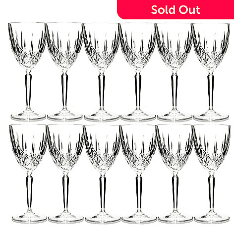429-169 - Marquis by Waterford Set-of-Twelve Sparkle Glasses