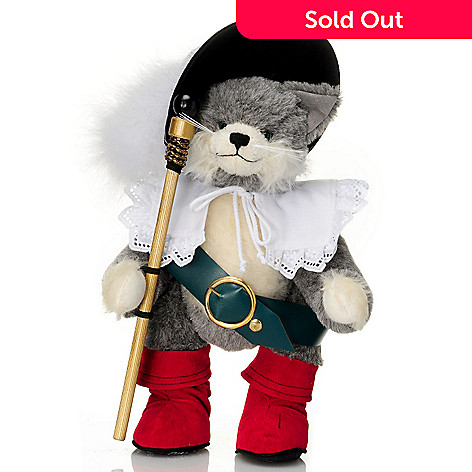 429-171 - Hermann™ 12-3/4'' Grimm's Fairy Tale Puss in Boots Teddy Bear