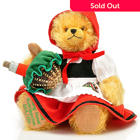 429-172 - Hermann 12-1/4'' Grimm's Fairy Tale Little Red Riding Hood Teddy Bear