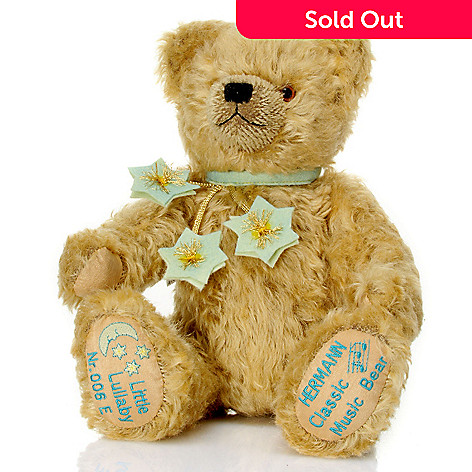 429-175 - Hermann™ 13-3/4'' 2012 Little Lullaby Classic Music Bear