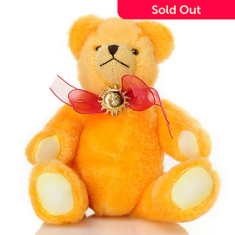 429-178 - Hermann 7-1/4'' My Little Rising Sun Teddy Bear