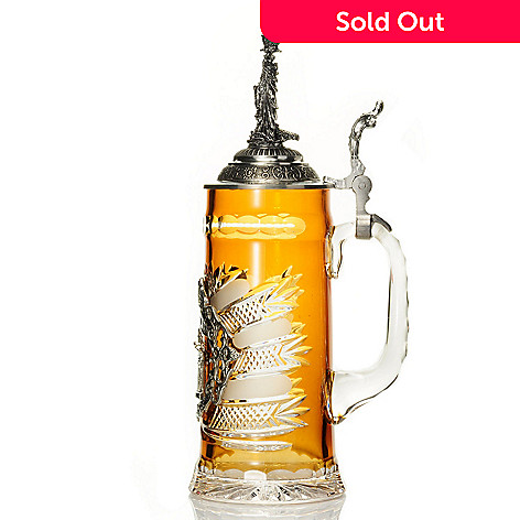 429-185 - King-Werk™ ''Berlin'' Amber Crystal Stein