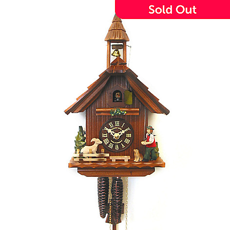 429-194 - Hubert Herr Bellringer One-Day Hand Crafted Cuckoo Clock