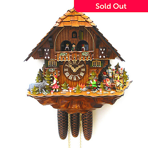 429-200 - Hubert Herr Limited Edition Fairy Tale Hand-Crafted Cuckoo Clock